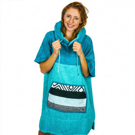 Poncho Wave Hawaii Bamboo Ponchinao Air, M