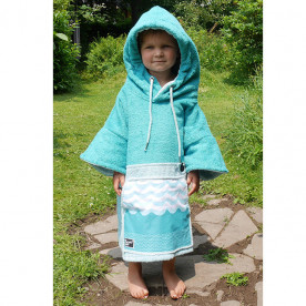 Poncho Wave Hawaii Bamboo Kids Mini