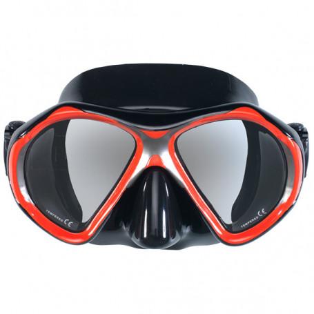 Máscara Scuba Force Vision II Roja