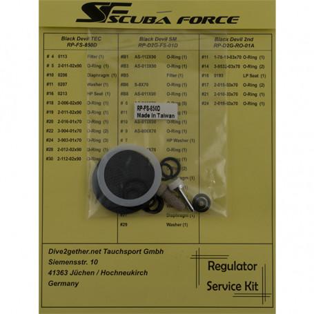 Kit Scuba Force de servicio para 1ª...