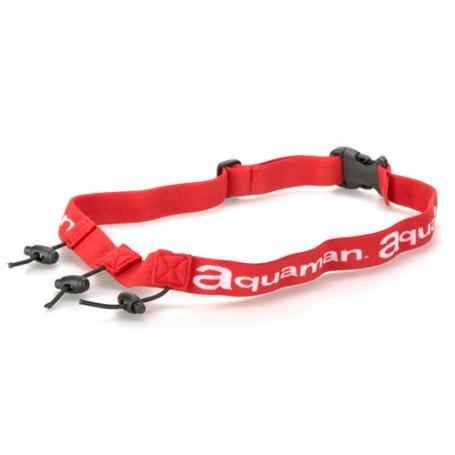 Portadorsal Aquaman Race Belt, Rojo