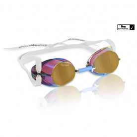 Gafas Suecas Malmsten Metallic, Gold