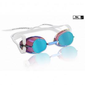 Gafas Suecas Malmsten Metallic, Azul