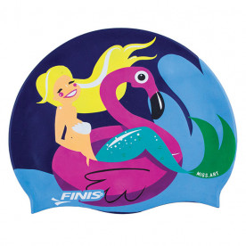 Gorro Silicona FINIS Mermaid Flamingo