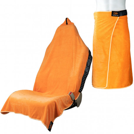 Toalla Orange Mud Transition Wrap...