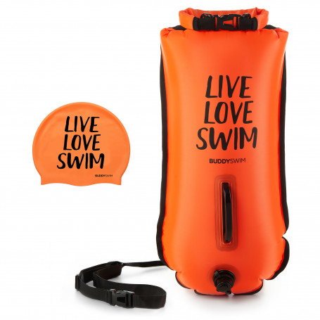 Boya Drybag BuddySwim LLS 28lt , Naranja