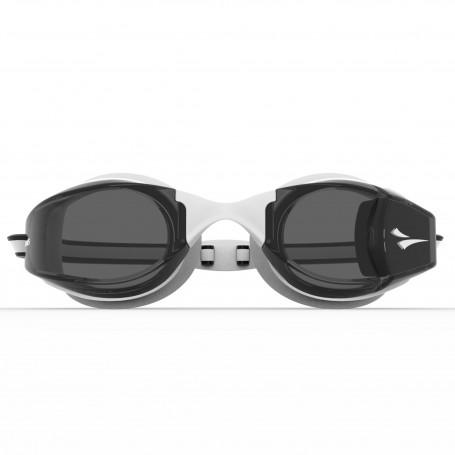 FINIS Smart Goggle, Blanco-Smoke