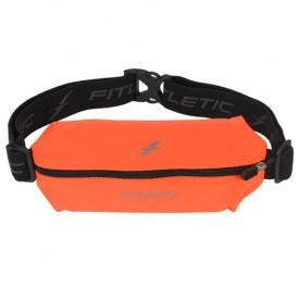 Cinturón Fitletic Lycra Mini Sports Belt, Naranja Fluor